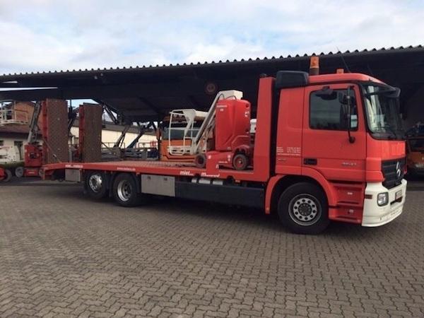 Maschinentransporte - Transportservice